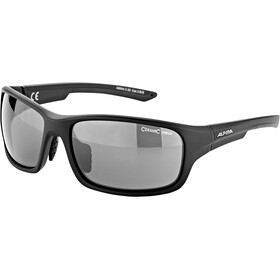 Alpina Lyron S Okulary, black matt/black mirror